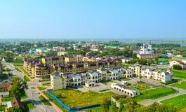 Piemont-Bezirk von Tobolsk Seitenansicht des Tobolsk Krem Lizenzfreies Stockfoto