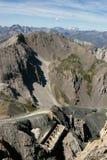 Piemont mountaine, Włochy obrazy royalty free