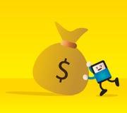Pieniądze ilustracji
