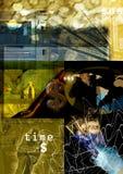 pieniądze abstrakcyjne tło Obraz Stock