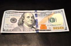 Pieniądze amerykanina sto tekstury notatek projekt Inwestycja, pieniężny, darowizna pojęcie, lub obraz royalty free