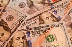 Pieniądze amerykanina sto tekstury notatek projekt koncepcja finansowego zdjęcia royalty free