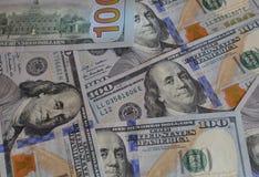 Pieniądze amerykanina sto tekstury notatek projekt koncepcja finansowego obraz royalty free