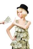 pieniądze bardziej potrzebował nie Fotografia Stock