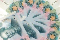 pieniądze chiński rmb Zdjęcia Royalty Free