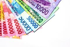 pieniądze czerwieni rupia zdjęcie royalty free