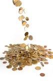 pieniądze deszcz Obrazy Royalty Free
