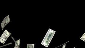 Pieniądze deszcz royalty ilustracja