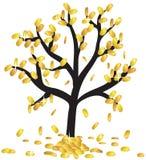 Pieniądze dorośnięcie na gałąź ilustracji