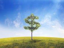 pieniądze drzewo royalty ilustracja
