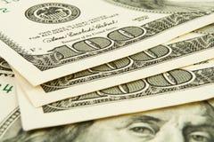 Pieniądze gotówkowy zbliżenie Fotografia Royalty Free