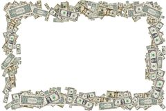 pieniądze graniczny obraz royalty free