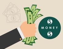 Pieniądze i inwestycja Zdjęcie Stock