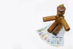 Pieniądze i kłamstwa Obraz Stock