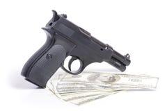 Pieniądze i władza Fotografia Stock
