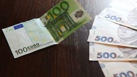Pieniądze i wymiany walut pojęcie zbiory wideo
