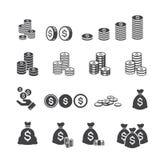 Pieniądze ikona Obraz Stock