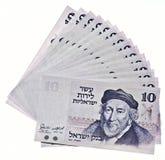 pieniądze izraelski rocznik Obraz Royalty Free