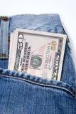 pieniądze kieszeń obrazy royalty free