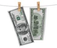 Pieniądze na arkanie Zdjęcia Stock