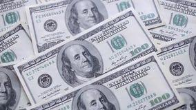 Pieniądze na stole zdjęcie wideo