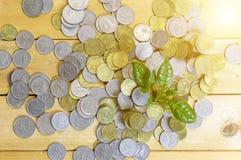 Pieniądze narastający pojęcie Obrazy Royalty Free