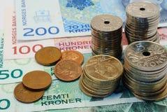 pieniądze norweg zdjęcia stock