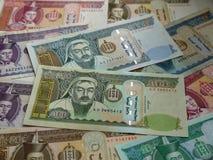 Pieniądze nowożytny Mongolia Zdjęcia Stock