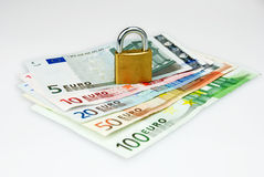 pieniądze ochraniający zdjęcia stock