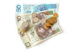 pieniądze połysk Obraz Royalty Free
