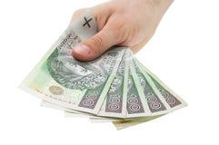 pieniądze połysk Obraz Stock