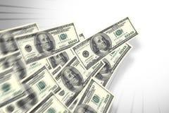 Pieniądze przepływ zdjęcie royalty free