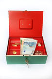 Pieniądze pudełko Zdjęcie Stock