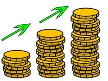 Pieniądze r ilustrację fotografia royalty free