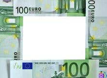 Pieniądze rama Zdjęcia Stock