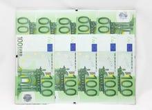 Pieniądze rama Obrazy Royalty Free