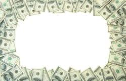 pieniądze ramowy obraz stock
