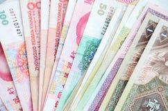 pieniądze rmb chińczykiem Zdjęcie Stock