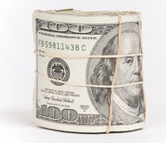 pieniądze rolka Zdjęcia Stock