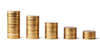 Pieniądze sterta   Zdjęcia Stock