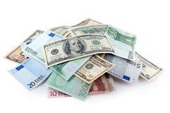 pieniądze stos zdjęcie royalty free