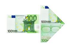 Pieniądze strzała Zdjęcie Stock
