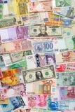 Pieniądze tło Obraz Royalty Free