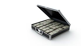 Pieniądze teczka Zdjęcia Stock