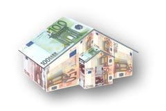 pieniądze w domu Zdjęcie Royalty Free