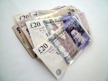pieniądze wielkiej brytanii Zdjęcia Royalty Free