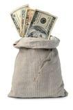 pieniądze worek obraz stock