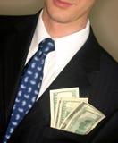 pieniądze z kieszeni obraz royalty free