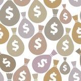 Pieniądze zdojest bezszwowego tło ilustracji