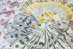 Pieniądze - znak szczęście fotografia royalty free